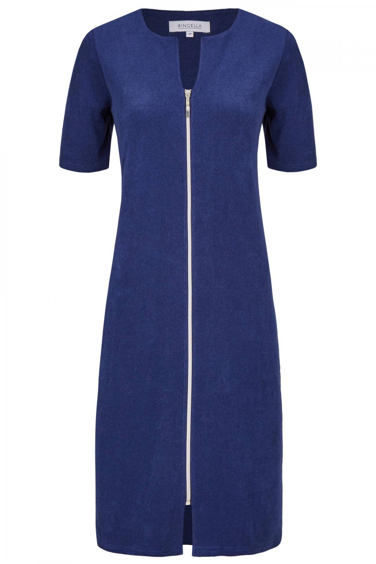 Ringella Damen Frottee Kleid Strandkleid Hauskleid