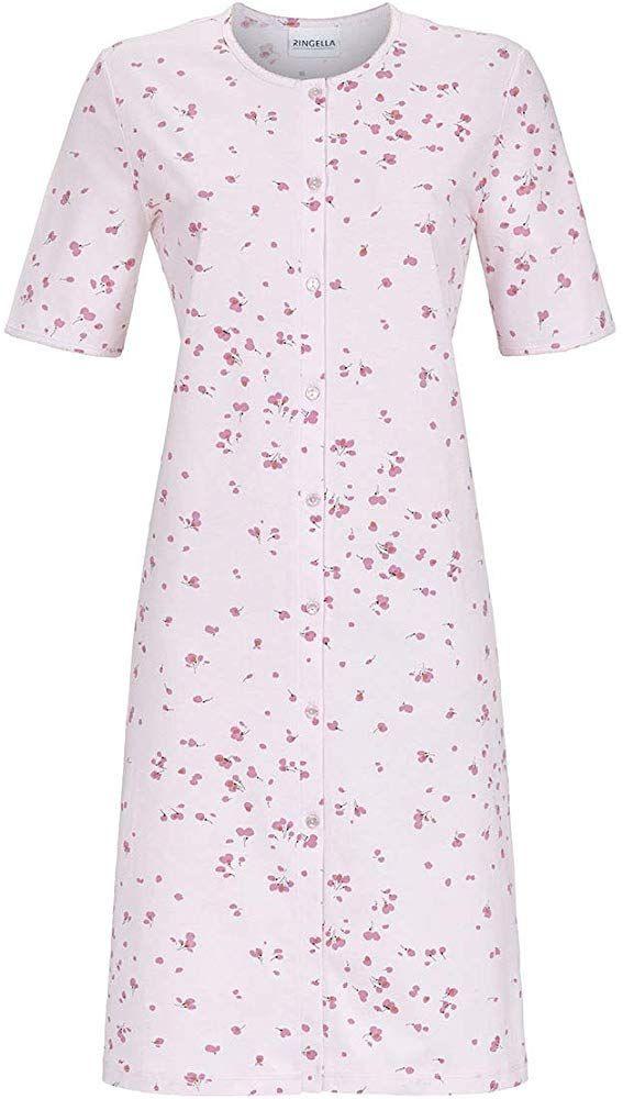 Ringella Damen Nachthemd Durchgeknöpft 9211049 Bekleidung