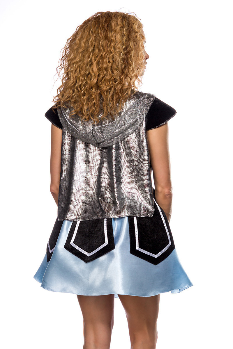Ritter Outfit Ritter Samt Kleid Satin  Einzigartiges