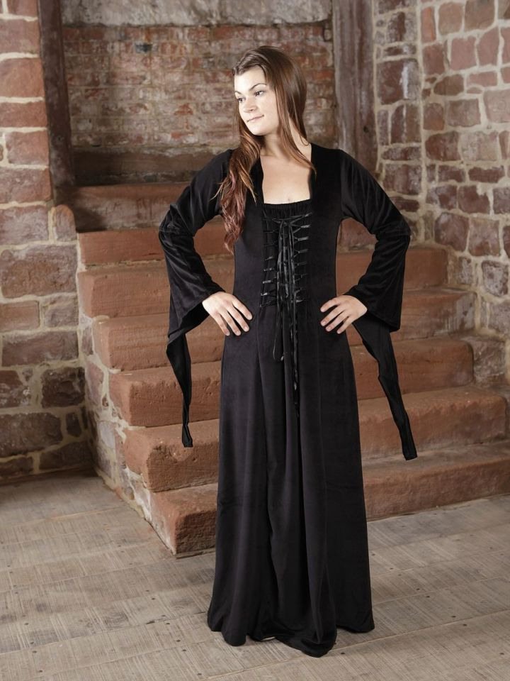 Ritterladen  Samtkleid  Abendkleid Mittelalter