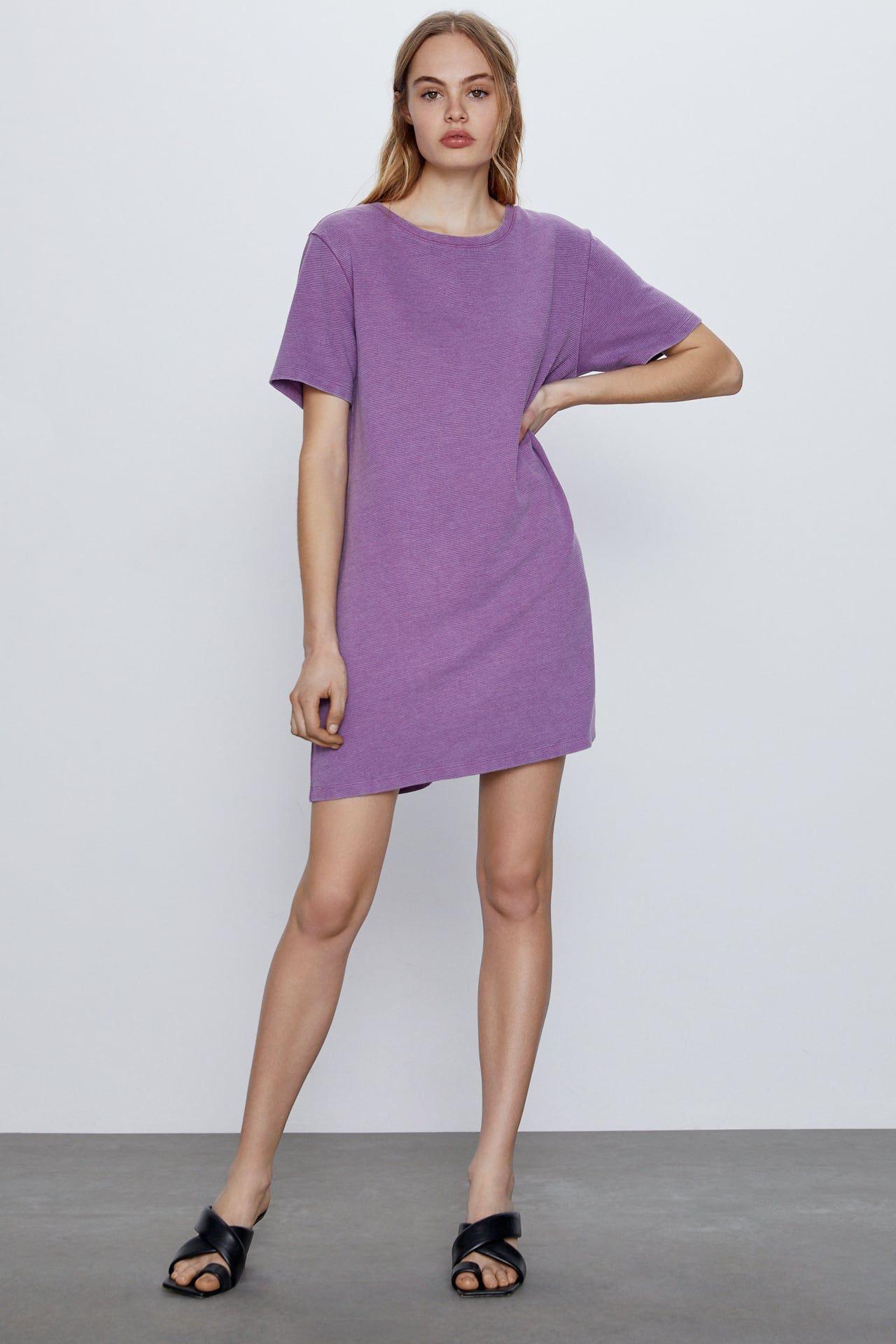 Robe Structurée  Zara France In 2020  Kurze Damenkleider