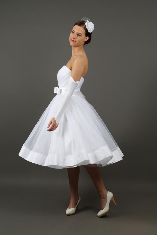 Rockabilly Brautkleid Petticaot Hochzeitskleid