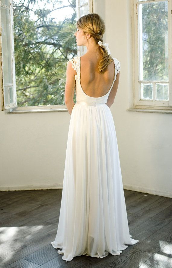 Romantische Vintage Inspirierte Hochzeitskleid Nach Maß