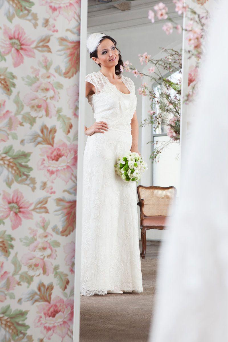 Romantisches Brautkleid Von Claudia Heller Modedesign
