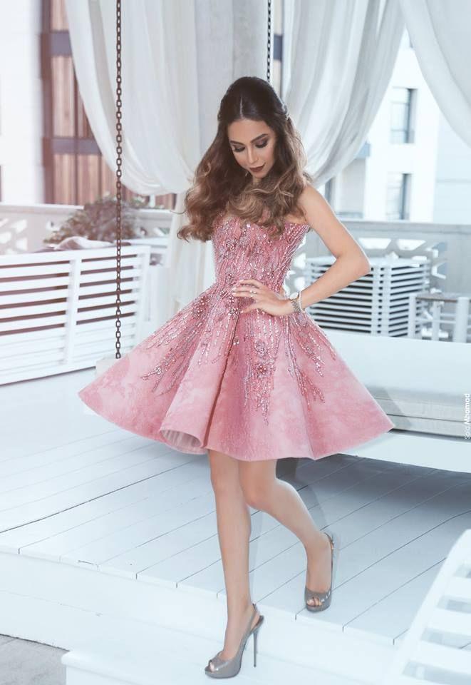 Rosa Kleid Kurz Hochzeit - Neue Stilvolle Jacken