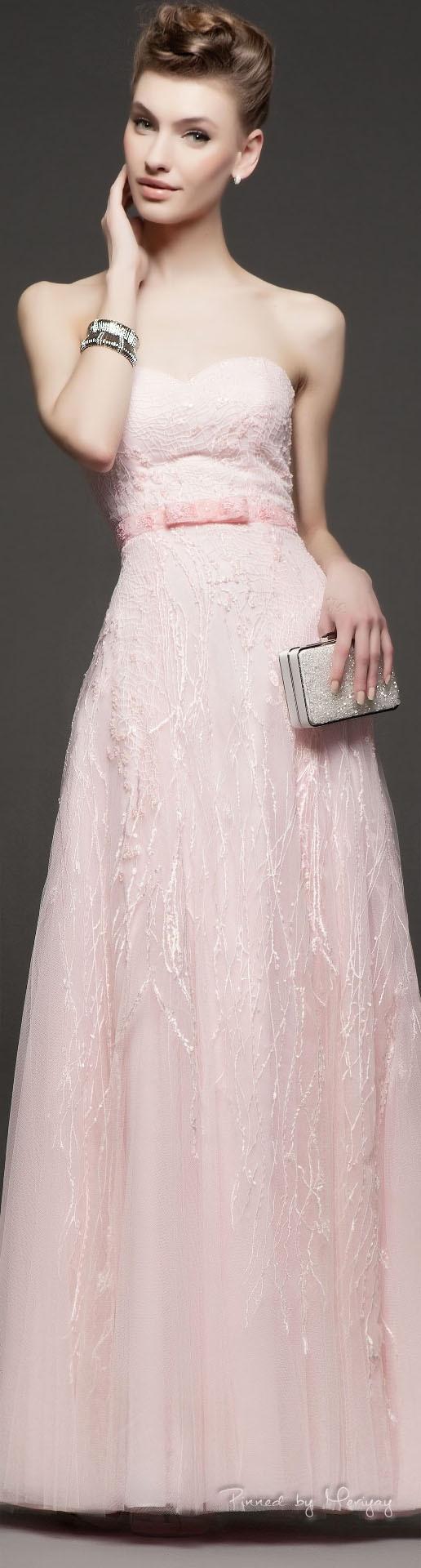 Rosa Suave  Schöne Kleider Abendkleid Kleidung