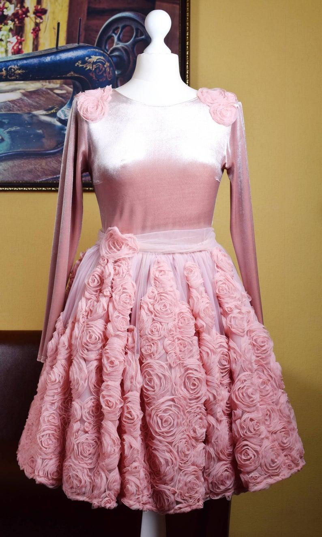 Rosen Mutter Tochter Passende Kleid Mama Und Mich Outfits