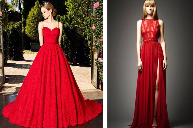Rot Schwarzes Hochzeitskleid  Hochzeittrauungparty