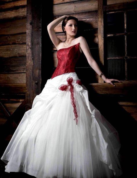 Rot Weißes Brautkleid Unique Brautkleid In Rot Bedeutung