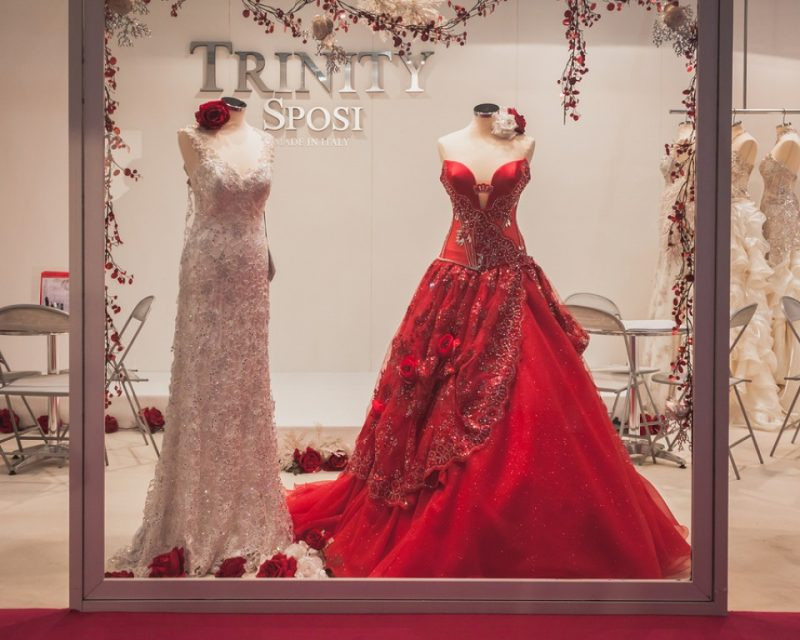 Rote Brautkleider Tolle Idee Für Eine Untraditionelle