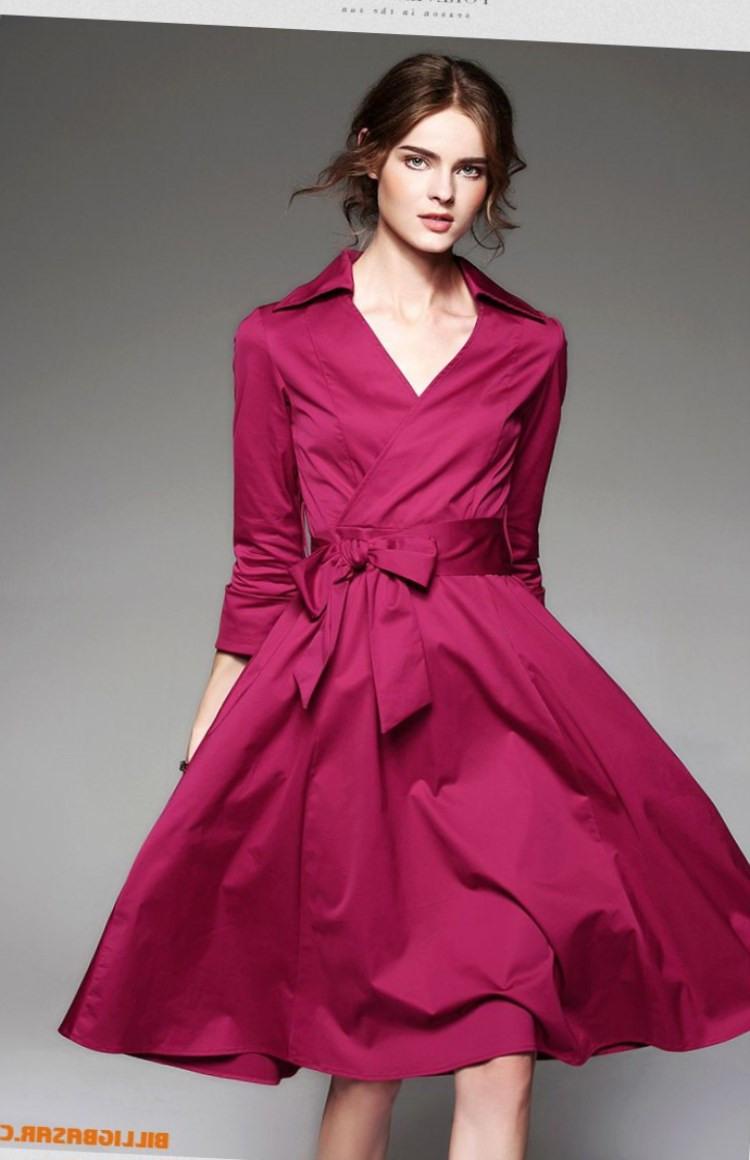 Rote Kleider Damen  Modetrends 2020  Die Top 20