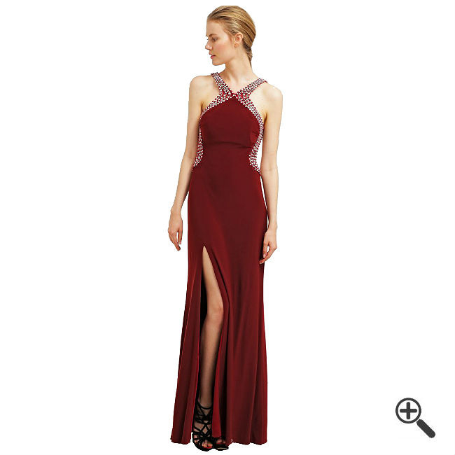 Rotes Abendkleid In Lang Kombinieren  3 Rote Outfits
