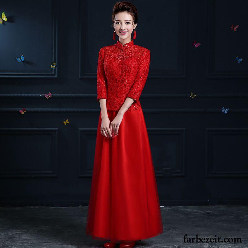 Rotes Abendkleid Lang Mit Armel  Modische Jacken 20182019