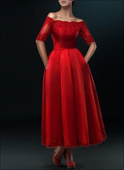 Rotes Brautkleid Wd810  Hochzeitskleid Brautmode Braut