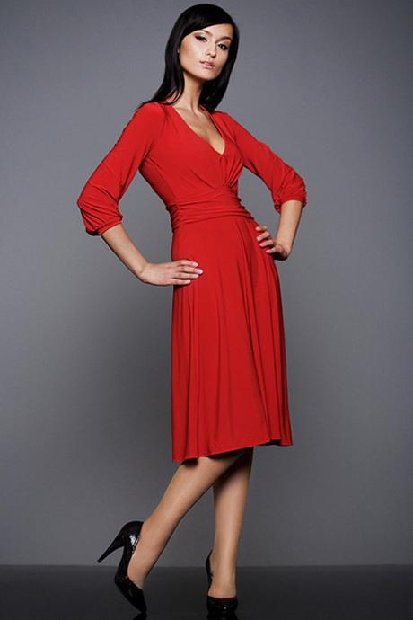 Rotes Elegantes Kleid