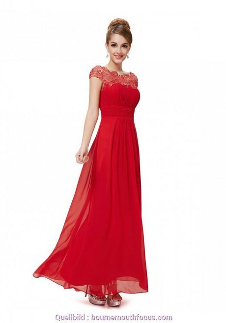 Rotes Kleid Abendkleid