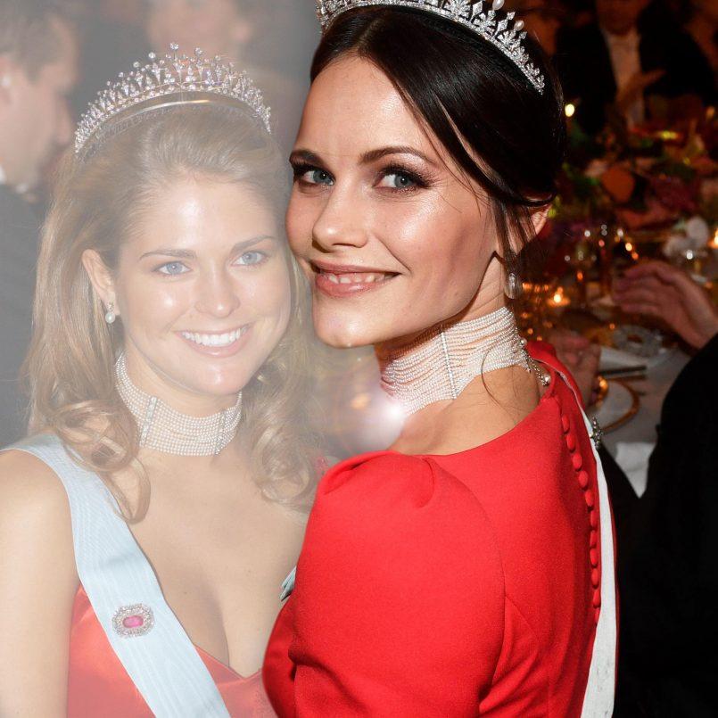 Rotes Kleid Auf Hochzeit Schweden  Victoria Von Schweden