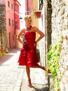 Rotes Kleid Hochzeit
