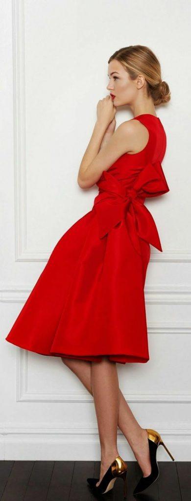 Rotes Kleid Kaufen Welche Frauen Tragen Gern Rot  Rotes
