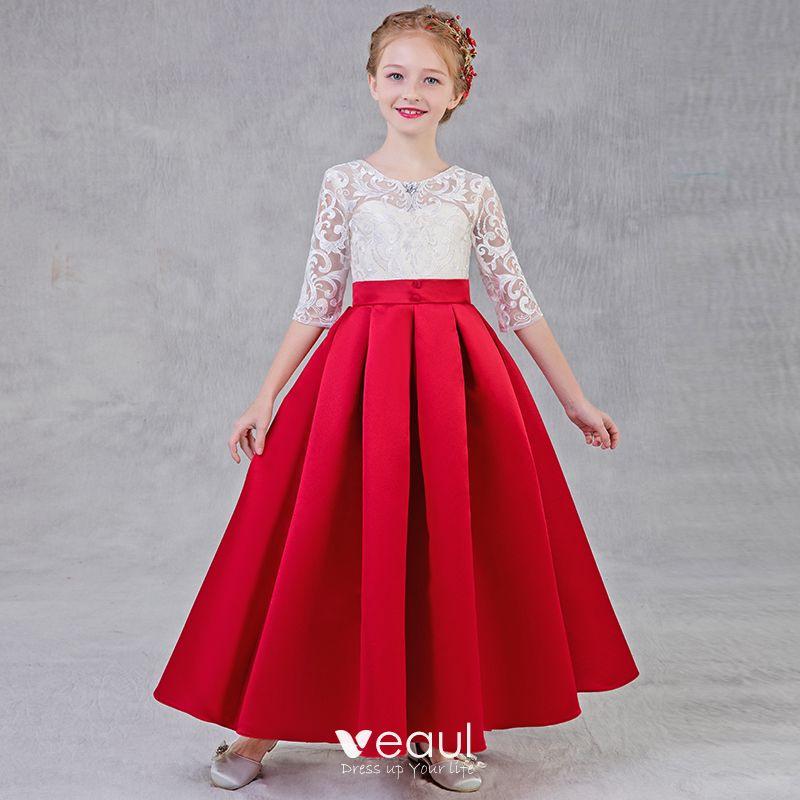 Rotes Kurzes Kleid Für Hochzeit