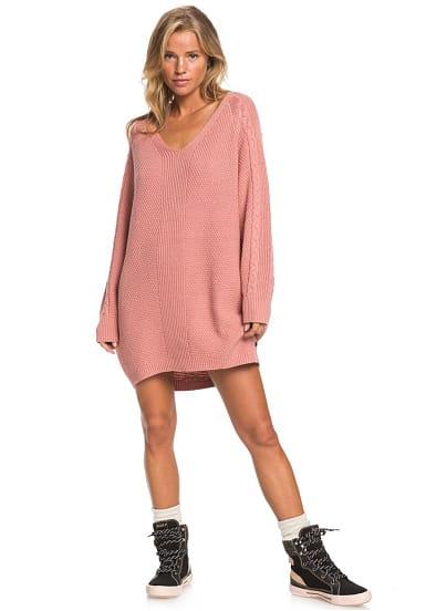 Roxy Baby Crush  Kleid Für Damen  Pink  Planet Sports