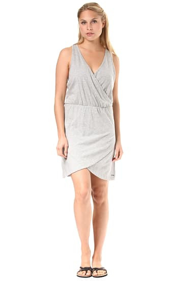 Roxy Ocean Skyline  Kleid Für Damen  Grau  Planet Sports