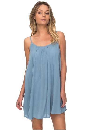 Roxy Windy Fly Away  Kleid Für Damen  Blau  Planet Sports