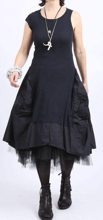 Rundholz Dip  Shirtkleid Ballonform Cotton Jersey Mix