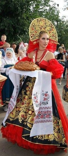 Russische Tracht/ Fasching