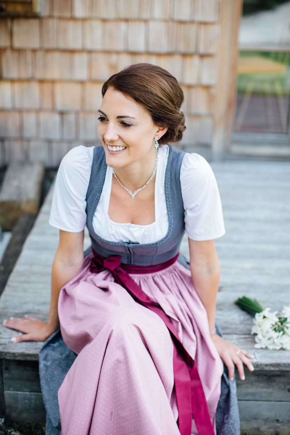 Sabine  Hannes  Trachten Hochzeit In Altausee  Carolin
