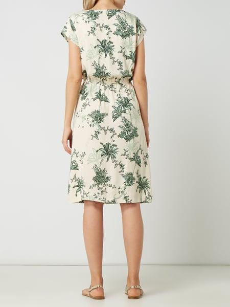 Saint Tropez Kleid Mit Allovermuster In Weiß Online