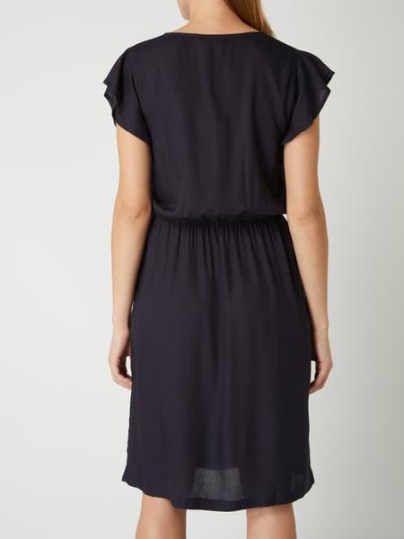 Saint Tropez Kleid Mit Angeschnittenen Ärmeln In Blau