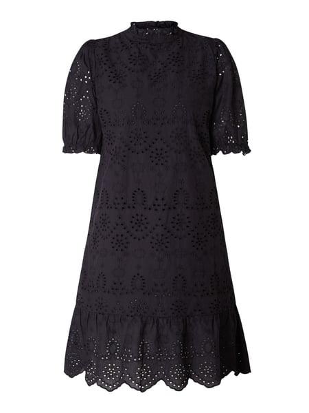 Saint Tropez Kleid Mit Lochstickereien Modell 'Aleksa' In