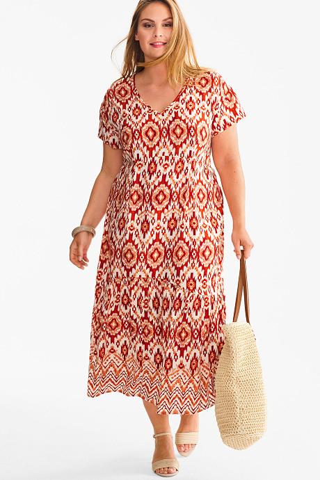 Sale Damen Kleider In Großen Größen Günstig  Ca Onlineshop