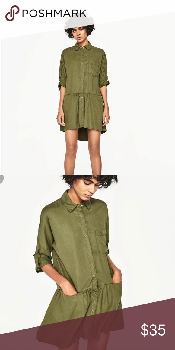 Sale💥Zara Dress Shirt  Zara Dress Shirts Shirt Dress