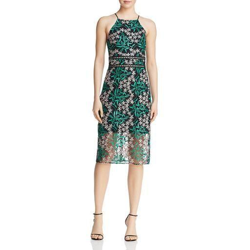 Sam Edelman Womens Lace Midi Cocktail Dressdesign Model