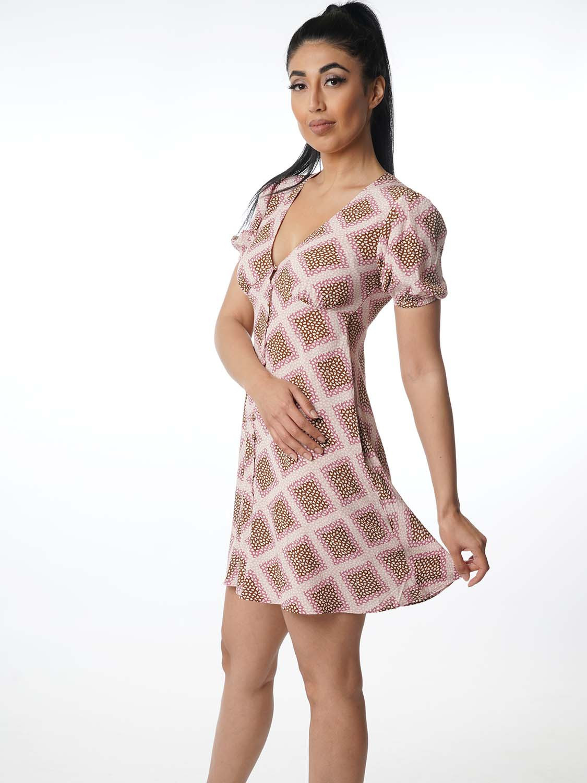 "Samsoe  Samsoe Damen Kleid  ""Petunia Dress Aop Col10056"