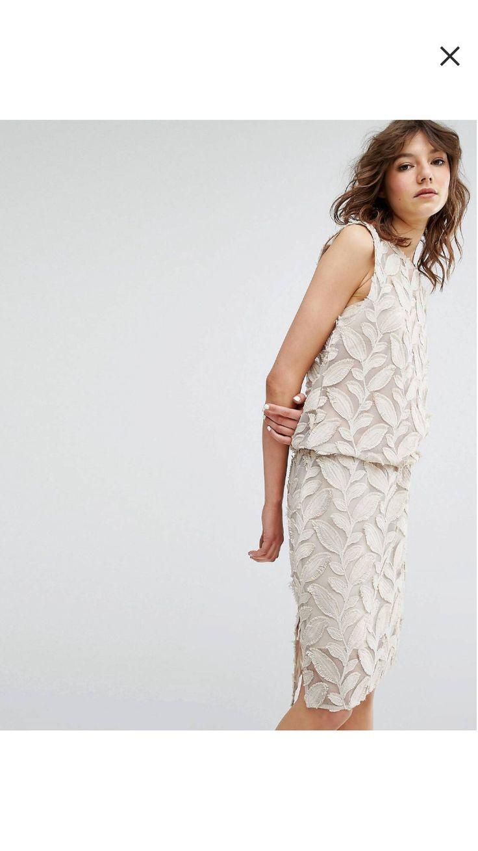 Samsoe  Samsoe  Mayer  Kleid Mit Applikationen Mit