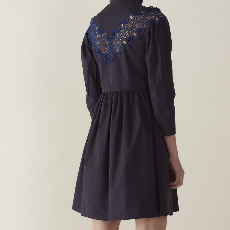 Sandro Paris Kleider  Damen Kurzes Kleid Mit