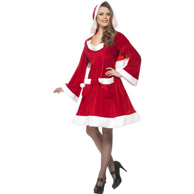Santa's Wife Weihnachtskleid Für Damen