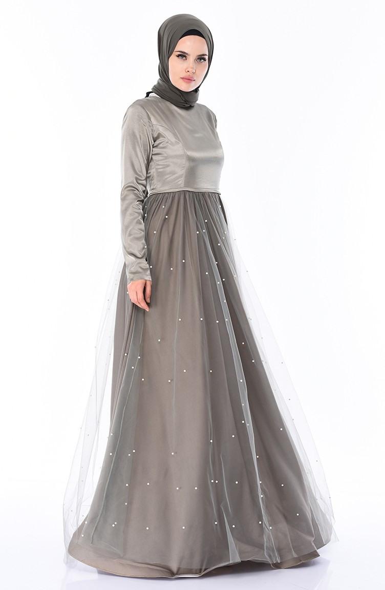 Schimmelgrün Hijababendkleider 1200205  Sefamerve