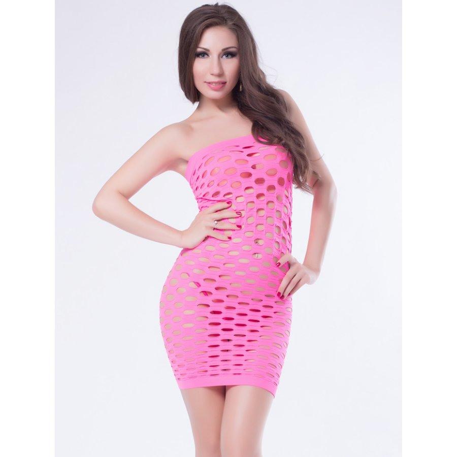 Schlauchkleid Pink  Dcclubwear Für Sie Und Ihn 1500