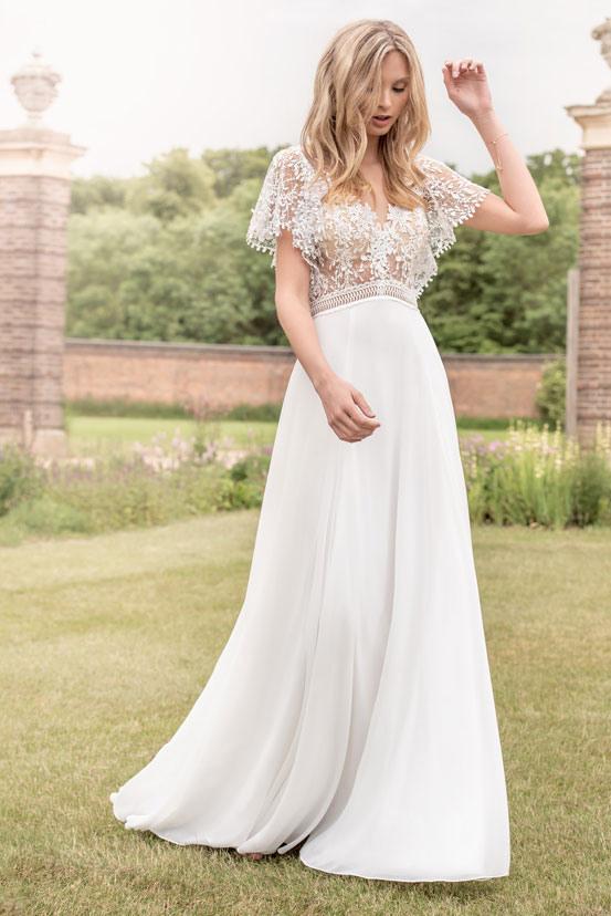 Schlichte Brautkleider  Schlichte Hochzeitskleider