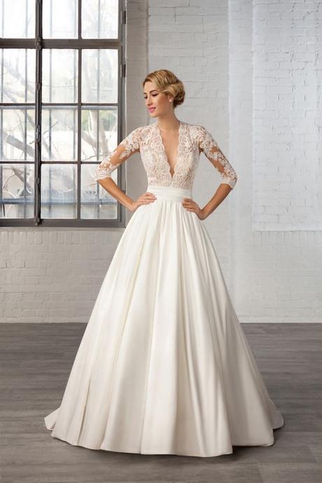 Schlichtes Brautkleid Vintage