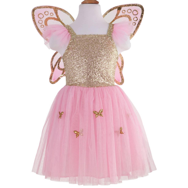 Schmetterling Kleid Gold Great Pretenders 56Jahre