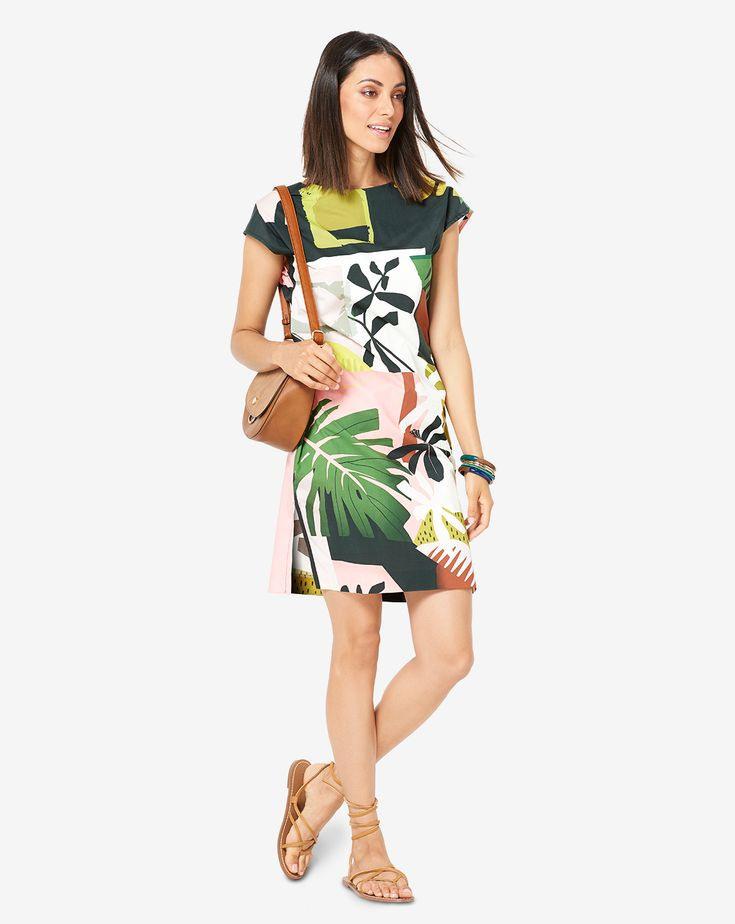 Schnittmuster · Kleid · Super Easy Hängerkleid Im Safari