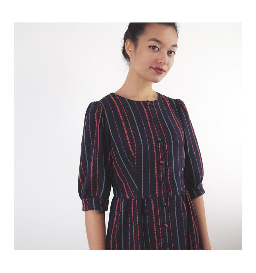 Schnittmuster Für Damen  Jocelyne Kleid Marke République