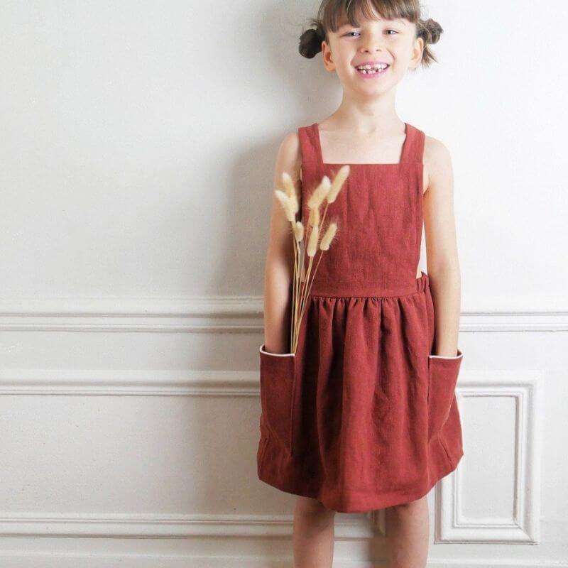 """Schnittmuster Kleid Kinder 312 J """"Milano Kids"""" Von"""
