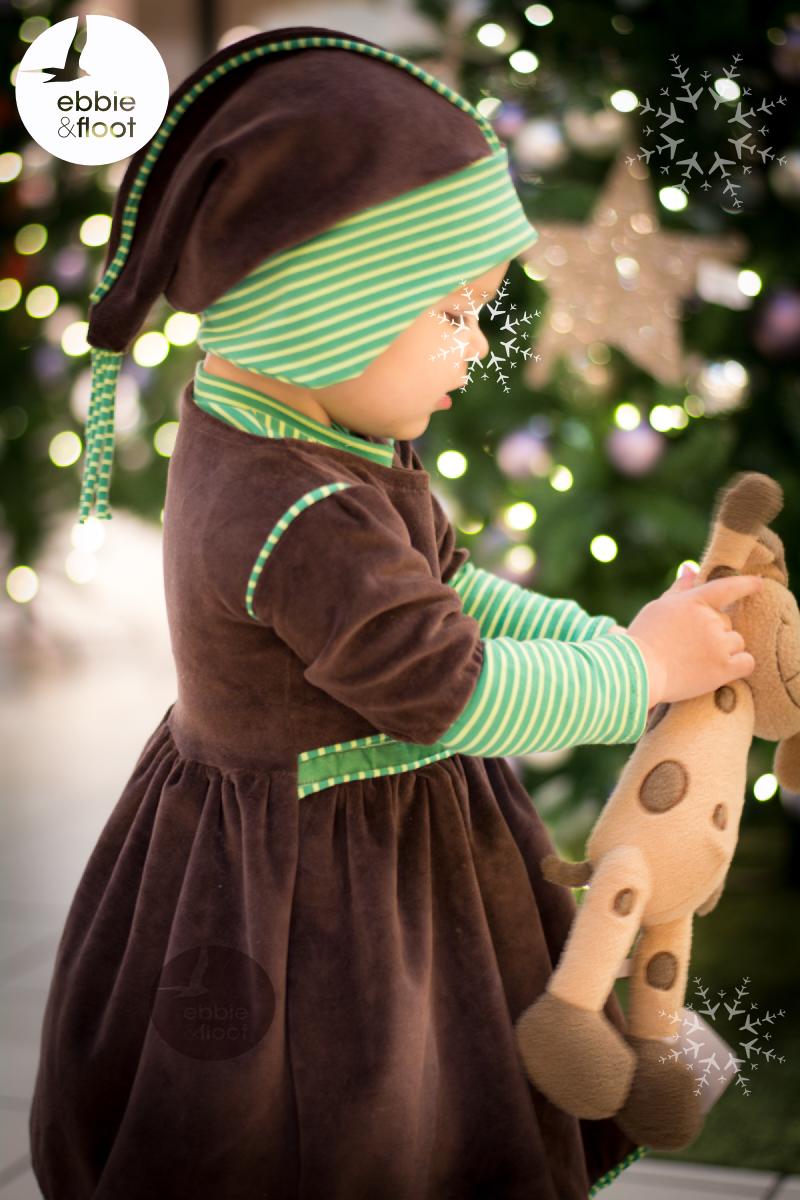 Schnittmuster Weihnachtskleid  Traumhaftes Festtagskleid