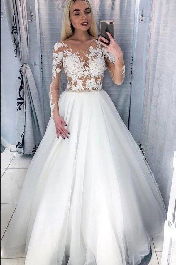 Schone Brautkleider Mit Armel  Hochzeitskleider Fur